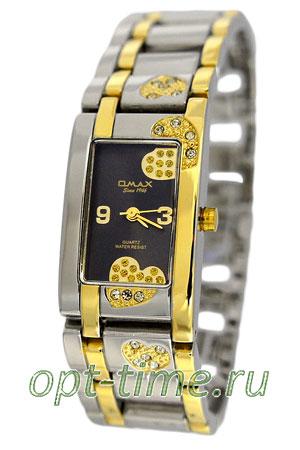 Omax часы наручные женские купить на ремешке OMAX